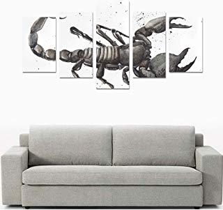 cuadro escorpión salón