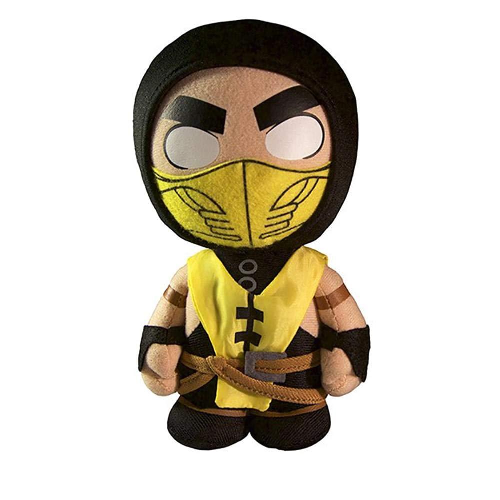peluche MKX Mortal Kombat SCORPIO amarillo