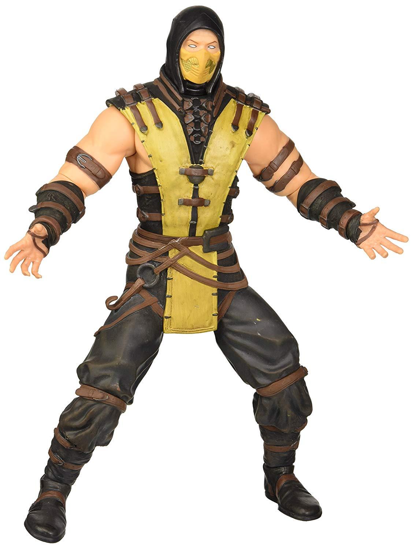 scorpio mortal kombat juguete figura de acción