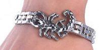 pulsera acero escorpión