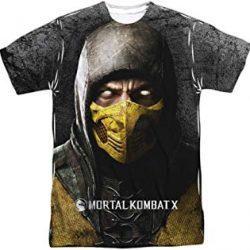 camiseta escorpio mortal kombat